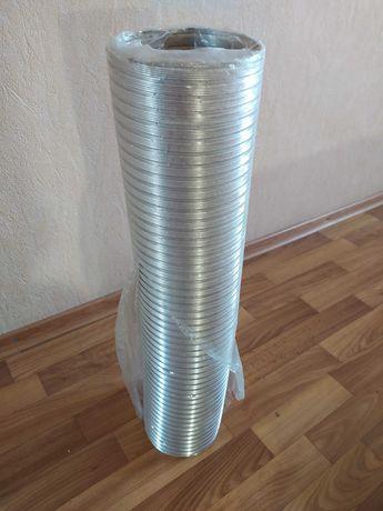 Воздуховод  алюминиевый d 140/3 длина 64 см1 шт