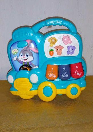 Музыкальная игрушка весёлый автобус