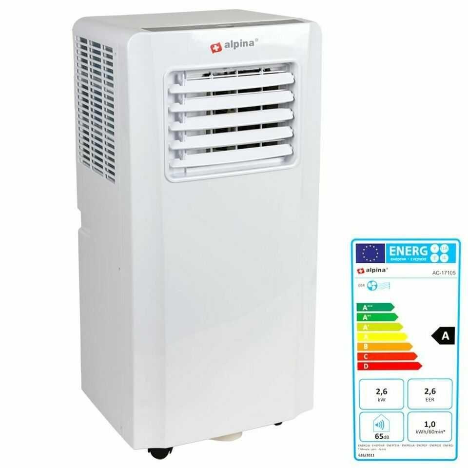 Осушитель воздуха 28,8л/24ч и кондиционер 2в1 Alpina A007G-09C 9000BTU