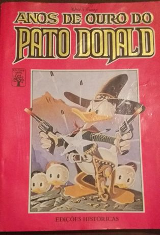 Edição de colecionador Disney de Ouro Pato Donald decada 50