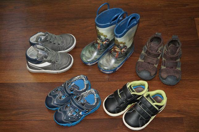 кроссовки, резинові сапоги, ботінки, кросiвки, ботинки. 20-21 размер