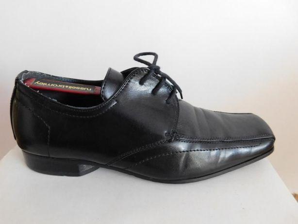 Buty półbuty skórzane CLARKS, wkładka 29cm