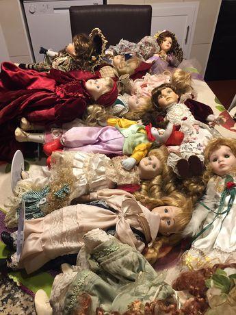 Colecao bonecas porcelana
