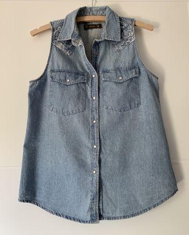 Jeansowa koszula pull&bear 36 s