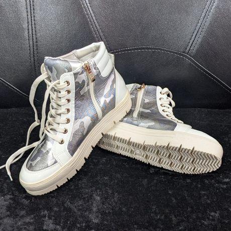 Кеды демисезонные, высокие, спортивные ботинки, 39