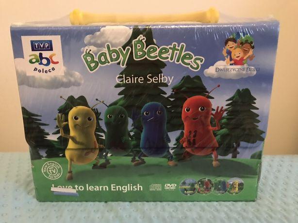 Nowy zafoliowany baby beetles zestaw do nauki angielskiego