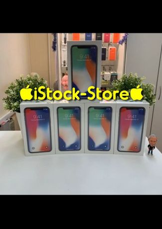 ∎∎КИЕВ∎∎NEW iPhone X 64 Gb 256 Space Gray SILVER Оригинал-Айфон 10