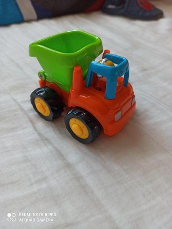 Autko zabawka wywrotka na żyroskopie