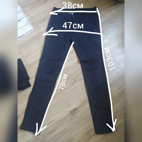 Школьные брюки(2шт), штаны, как новые, рост 158-162