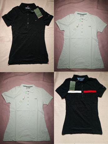 Koszulki polo damskie Koszulka Tommy Hilfiger Lacoste nowe premium