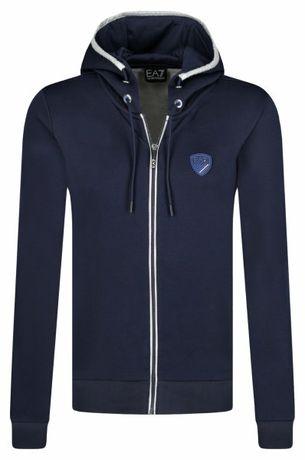 Bluza marki EA7 Emporio Armani kolekcja 2020 wiosna lato Zip Up Hoodie