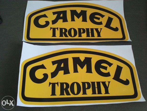Camel Trophy / Land Rover / Autocolantes
