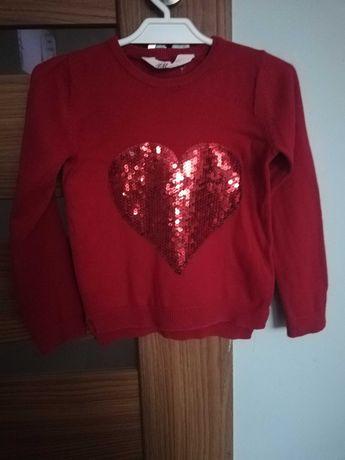 ***Piękny sweterek z HM  cekiny  98/104**