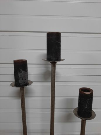 Suporte de velas decorativas - loja do gato preto