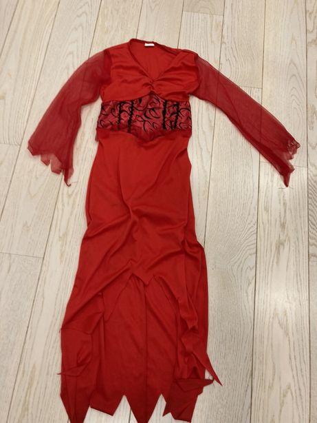 Sukienka przebranie diablicy diabła