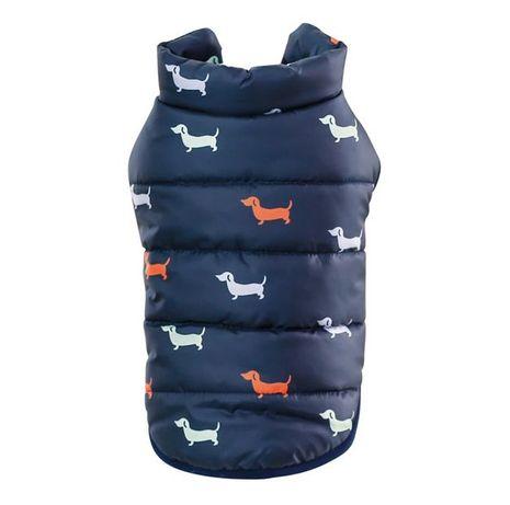 Kurtka zimowa dla psa Ocieplana zapinana na zatrzaski NOWA M L XL