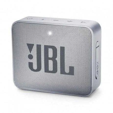 Coluna Portátil JBL GO 2 Bluetooth 3W c/ Microfone 5h Cinza