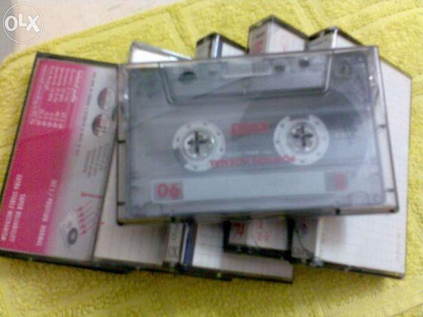 Cassetes áudio usadas-conj.10