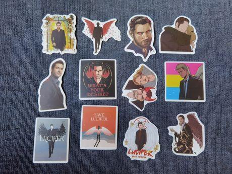 30 Stickers/autocolantes Série Lúcifer (portes grátis)