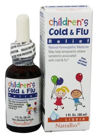 Childrens Cold&Flu от простуды, гриппа для детей 30мл Iherb