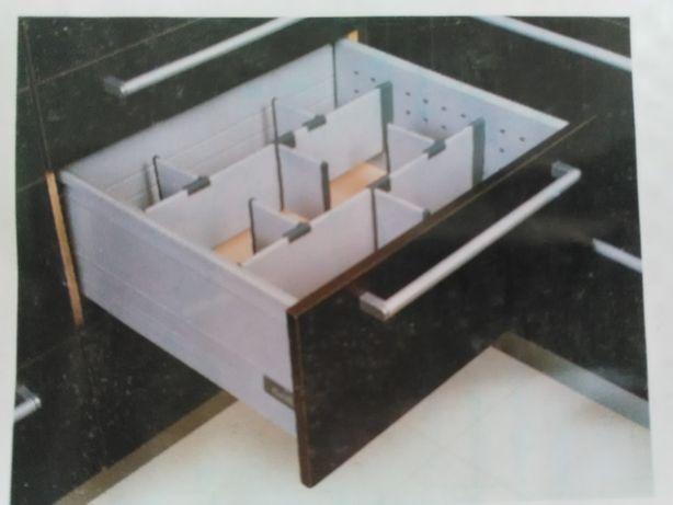 Organizador separador divisória gavetas