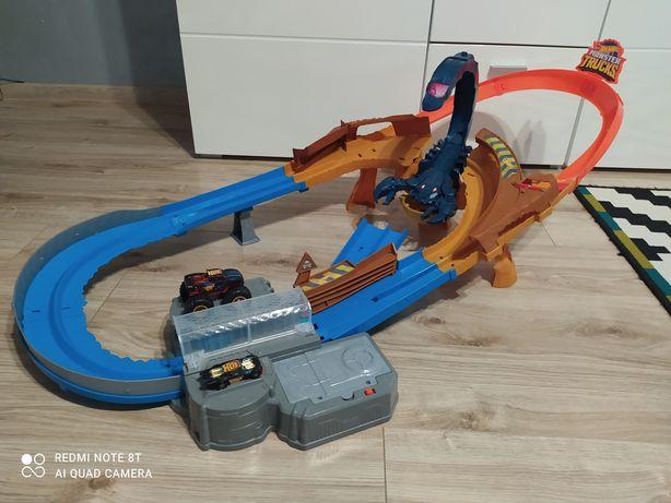 Hot Wheels, Monster Trucks, Skorpion, zestaw torów