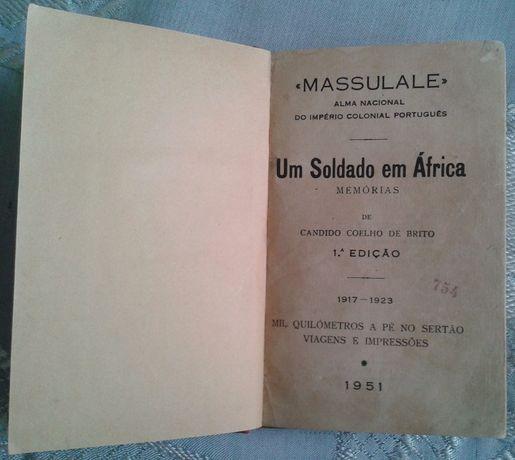Um soldado em África - Memórias / Cândido Coelho de Brito