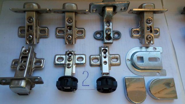 Петли накладные для мебельных дверей, полок и т.д.