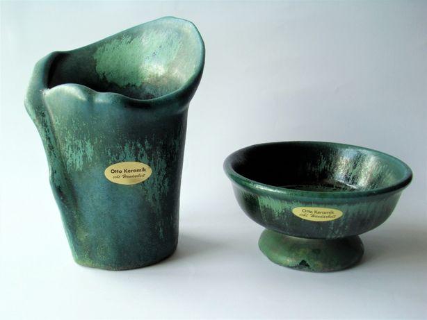 Komplet ceramika Otto wazon miska