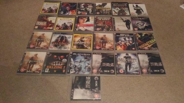 Lote de Jogos Playstation 3 - Ler anuncio