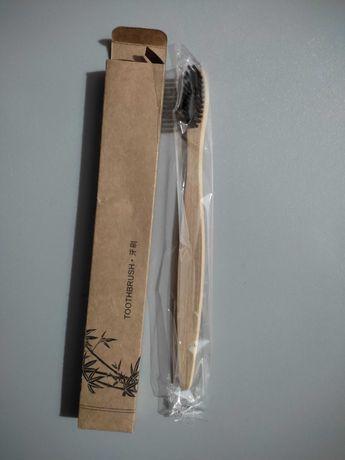 Escova de dentes de bambu