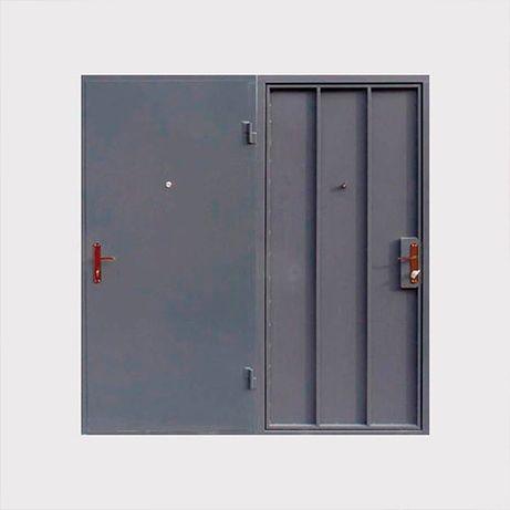 Металлические двери любой сложности под заказ.