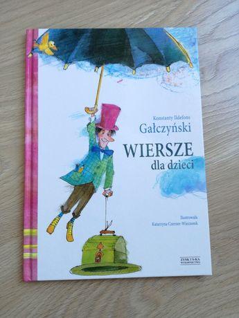 Książka Wiersze dla dzieci Gałczyński wspaniałe ilustracje