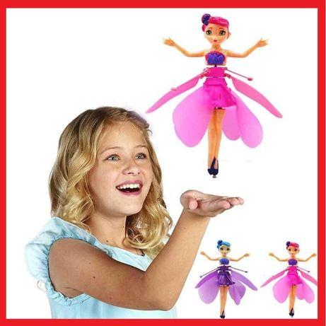 Новинка! Мега подарок! Летающая кукла Фея Flying Fairy с крыльями U