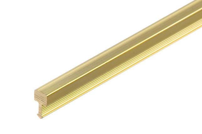 Profil fugowy kwadratowy mosiądz FUG 5 CEZAR 5mm 2mb