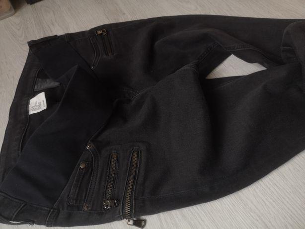 Spodnie ciążowe hm rozmiar 42, spodnie hm mama L