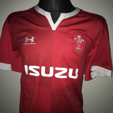 Under Armour roz XL Rugby koszulka reprezentacji Walii