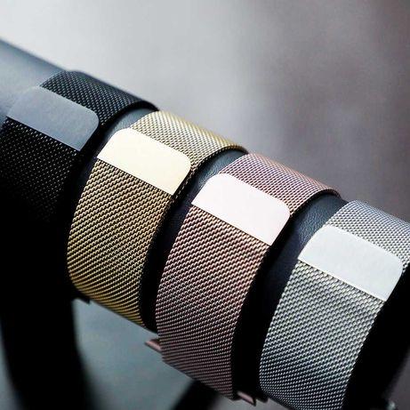 Миланская петля для Apple Watch Milanese loop ремешок металлический