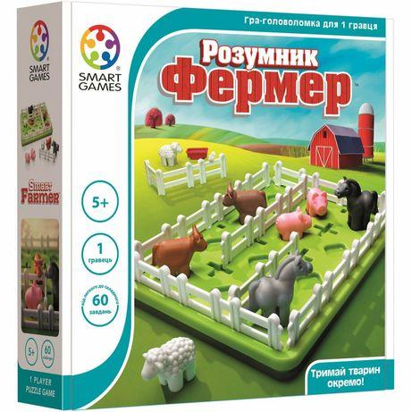 Настольная игра, головоломка Smart Games. Умный фермер