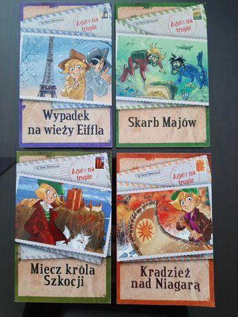 Agata na tropie jrdna cena za cztery książki