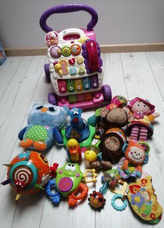 Duży zestaw zabawek vtech Lamaze hula kula