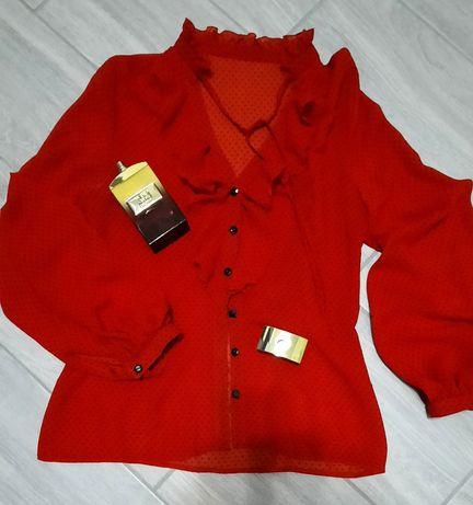 Продам красивую шифоновую блузу.