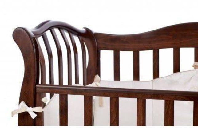 Итальянская,деревянная кроватка Italbaby