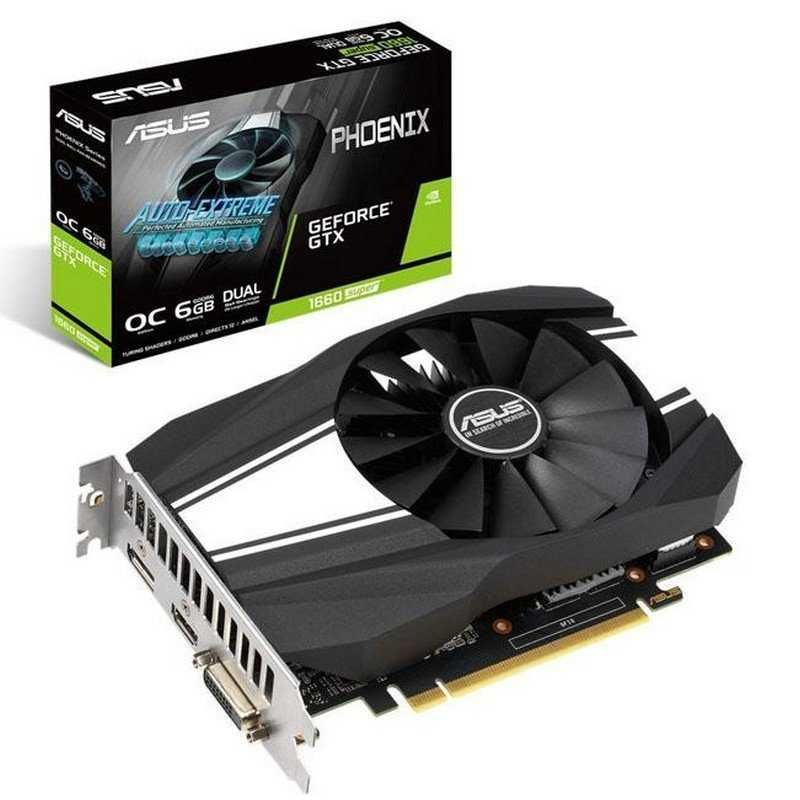 Placa grafica Asus GeForce GTX 1660 SUPER OC 6GB GDDR6