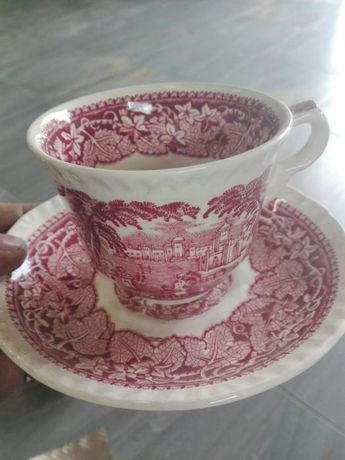 Ceramika porcelana Masons Vista , pink vist FRANCISCAN nie bolesławiec