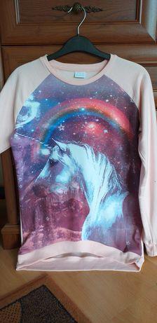 Bluza galaxy z jednorożcem