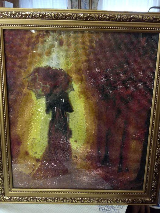 """Картина вышитая бисером """"Золотая осень"""" Кривой Рог - изображение 1"""