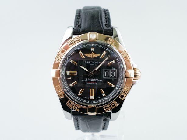 Мужские бу часы Breitling Galactic 41 мм