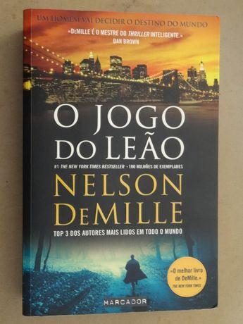 O Jogo do Leão de Nelson DeMille - 1ª Edição