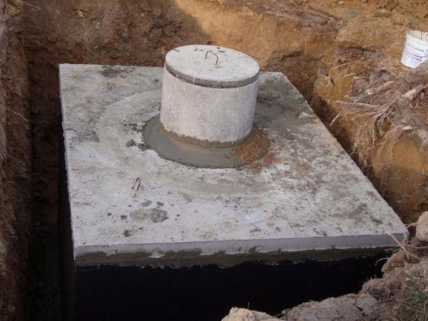 szambo betonowe szamba zbiorniki zbiornik betonowy 10m3 montaż 8 12 6